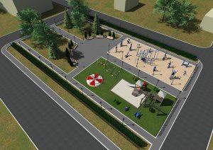 дизайн проект площадки 37